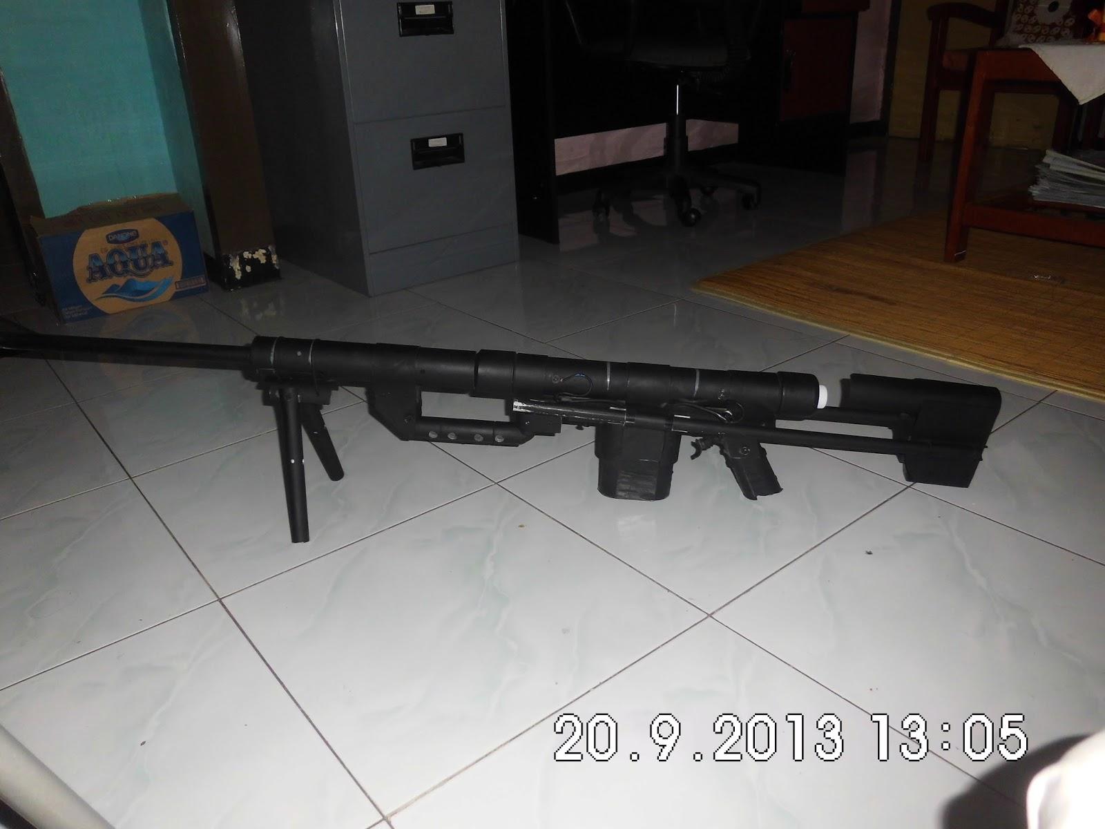 Download Sketsa Gambar Sniper