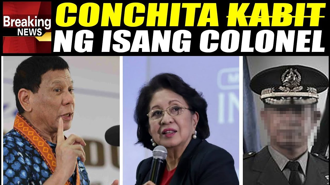 WATCH: Duterte Exposed Conchita Morales Having Third Party Affair with General