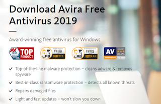 Avira 2019 Antivirus PC Free Download