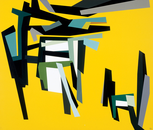 The Art Appraiser: Karl Benjamin: Geometric Abstract Artist