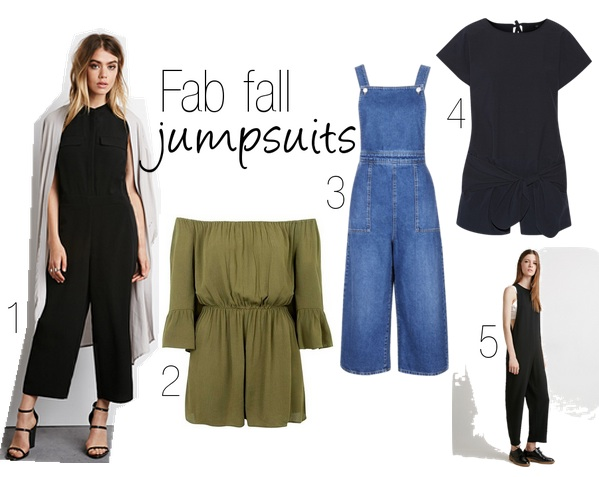 Weekend shop: 5 must-have jumpsuits for fall