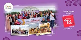 Menjalin Ukhuwah Islamiyah dengan Berwisata ke Inner Mongolia