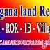 Telangana MaBhoomi Online Land Records Pahani ROR FMB 1B in mabhoomi.telangana.gov.in