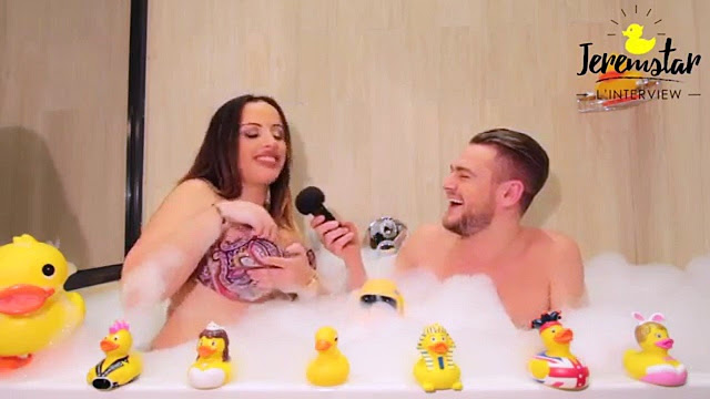 Laura (Les Princes de l'Amour 3) dans le bain de Jeremstar - INTERVIEW