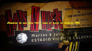 Guns N' Roses, Madrid, Vicente Calderón, GN' R, 1993,