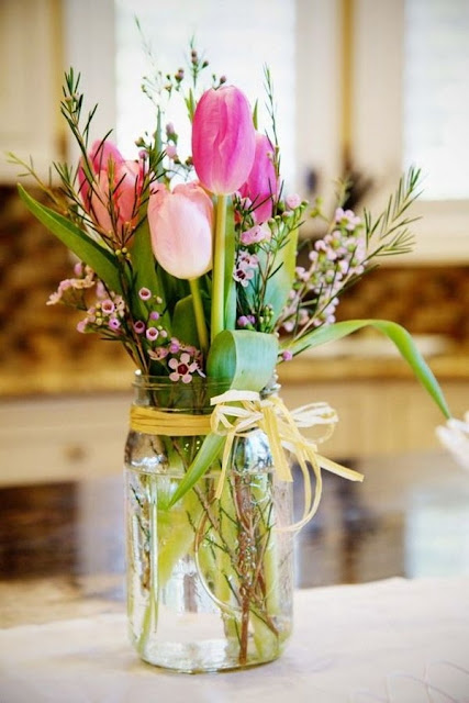 Floral Arrangements With Tulips 6