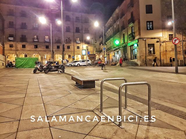 Aparcabicis, salamancaenbici, red aparcamientos bici,