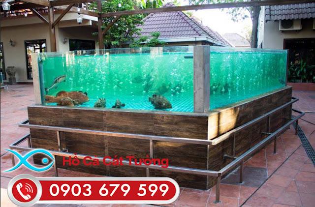 Các thiết bị cần có trong hồ nuôi hải sản