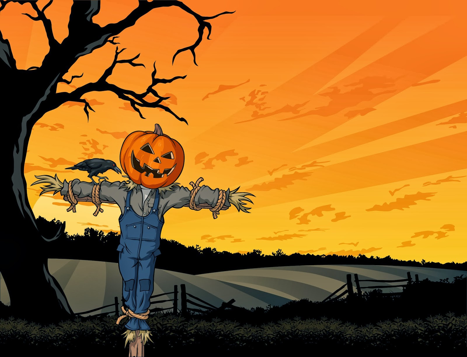 Halloween HD Wallpaper 1080P Images Backgrounds Collection | Wallpapers HD Collection