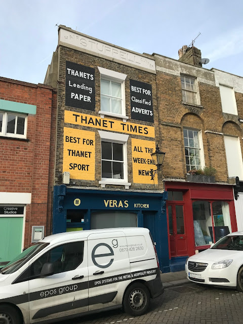 Ghost signs, old town, Margate