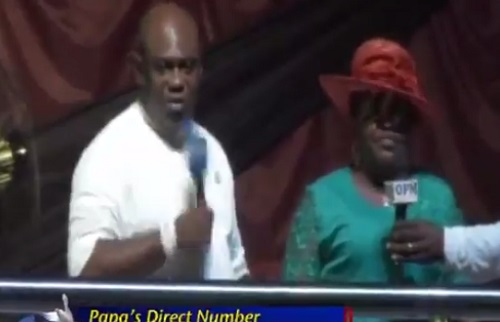 How My Pastor's Miracle Coconut Restored My Marriage - Woman Gives Hilarious Testimony in Church (Video)
