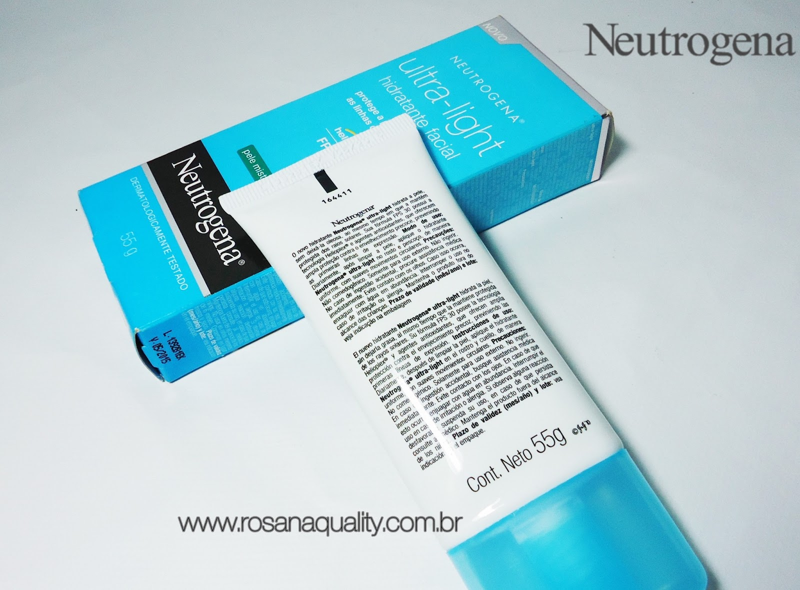 Hidratante Facial Ultra Light Neutrogena