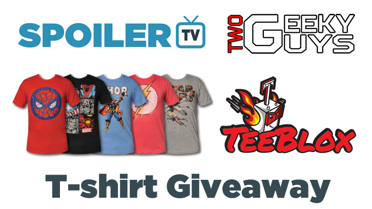 Enter our free Teeblox T-Shirt August Giveaway (3 possible winners)