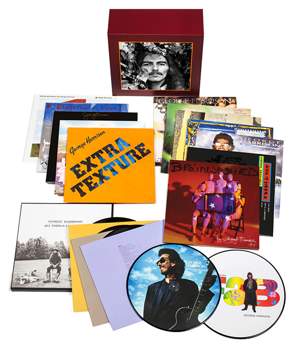 « George Harrison - The Vinyl Collection » : l'intégral de la carrière solo
