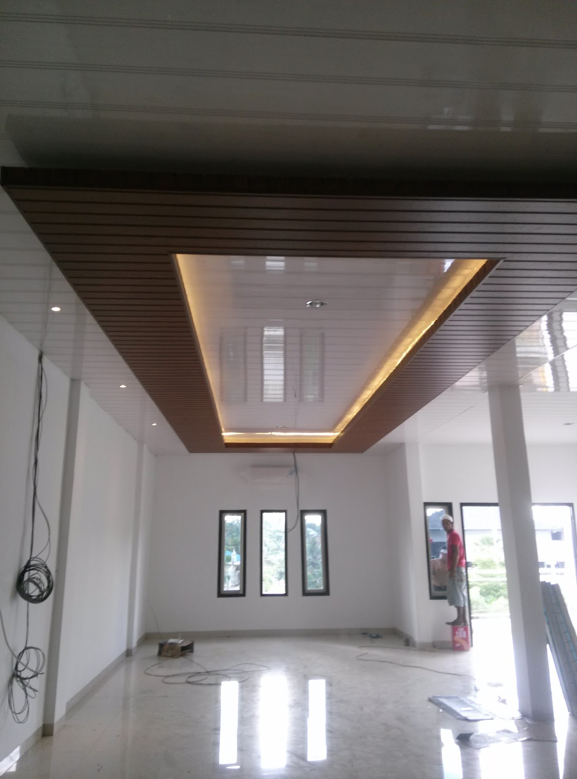 Plafon PVC Anti Air Pekanbaru