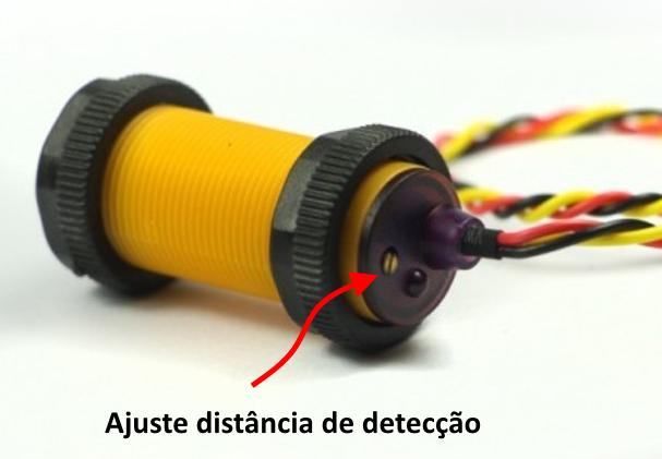 Sensor de proximidade IR - Ajuste