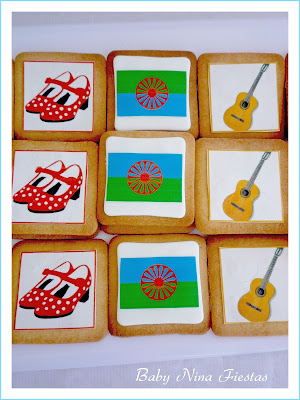 galletas decoradas día pueblo gitano