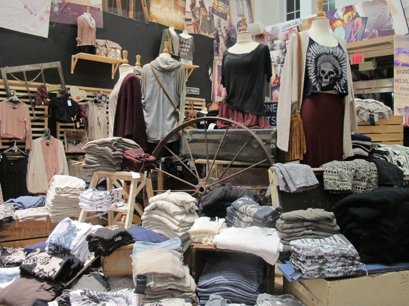 Brandy Melville Stores Furniture Table Styles