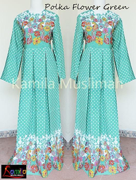 15 Model Baju Muslim Bahan Katun Jepang Terbaru 2017