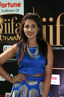 Madhu Shalini Looks Super Cute Slim trim Blue Choli Ghagra IIFA Utsavam Awards 31.JPG