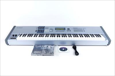 MATRIXSYNTH: Yamaha Motif ES8 88 key synthesizer keyboard