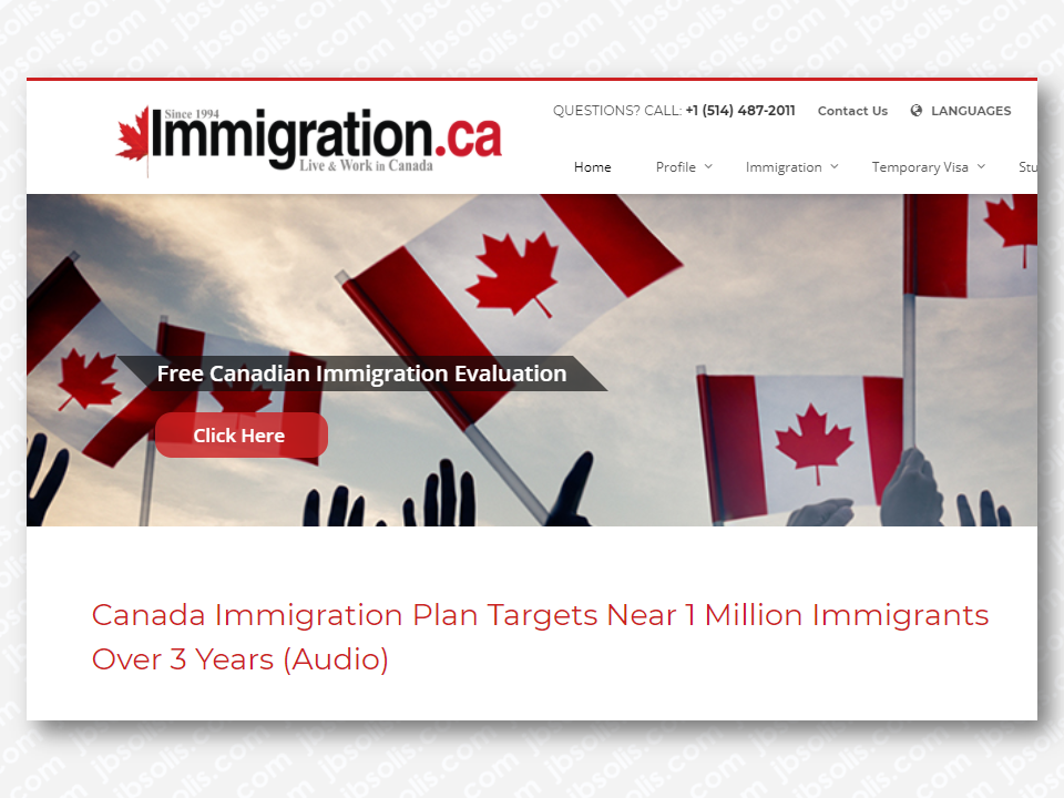 "Canada is among the list of people from different nationalities for an ideal country to immigrate and a home to thousands of overseas Filipino workers (OFW) and their families. This friendly country will again welcome about almost one million immigrants until 2020, according to the multi-year strategy tabled by the Liberal government five months ago in what it calls ""the most ambitious immigration levels in recent history. The number of economic migrants, family reunifications and refugees is expected to climb to 310,000 in 2018, up from 300,000 last year. That number will rise to 330,000 in 2019 then 340,000 in 2020.  Advertisement       Sponsored Links         Hussen said the new targets will bring Canada's immigration to nearly one percent of the population by 2020, which will help offset an aging demographic. He called it a historic and responsible plan and ""the most ambitious"" in recent history.    Hussen said immigration drives innovation and strengthens the economy, nullifying some claims that immigrants drain Canada's resources and become a burden on society.    He said the government is also working to reduce backlogs and speed up the processing of applications in order to reunite families and speed up citizenship applications.      The federal government's own Advisory Council on Economic Growth had recommended upping levels to reach 450,000 newcomers annually by 2021. Hussen said the government is taking a more gradual approach to ensure successful integration.    ""At arriving at these numbers we listened very carefully to all stakeholders who told us they want to see an increase but they also want to make sure that each and every newcomer that we bring to Canada — bringing a newcomer to Canada is half of the job. We have to make sure that people are able to be given the tools that they need to succeed once they get here,"" he said.          Read More:  Classic Room Mates You Probably Living With    Remittance Fees To Be Imposed On Kuwait Expats Expected To Bring $230 Million Income    TESDA Provides Training For Returning OFWs  Look! Hut Built For NPA Surrenderees  Cash Aid To Be Given To Displaced OFWs From Kuwait—OWWA    Skilled Workers In The UAE Can Now Have Maximum Of Two Part-time Jobs    Former OFW In Dubai Now Earning P25K A Week From Her Business    Top Search Engines In The Philippines For Finding Jobs Abroad    5 Signs A Person Is Going To Be Poor And 5 Signs You"