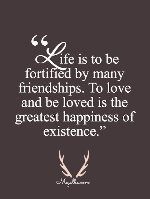 Life Is To Be Fortified Love Quotes