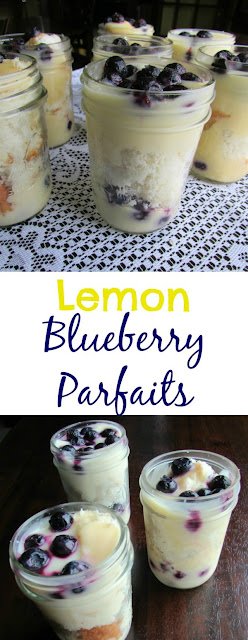 These gems are perfect for spring. Make as one big trifle or as individual trifles. Lemon. blueberries and angel food are a match made in heaven! Perfect for Easter and spring!