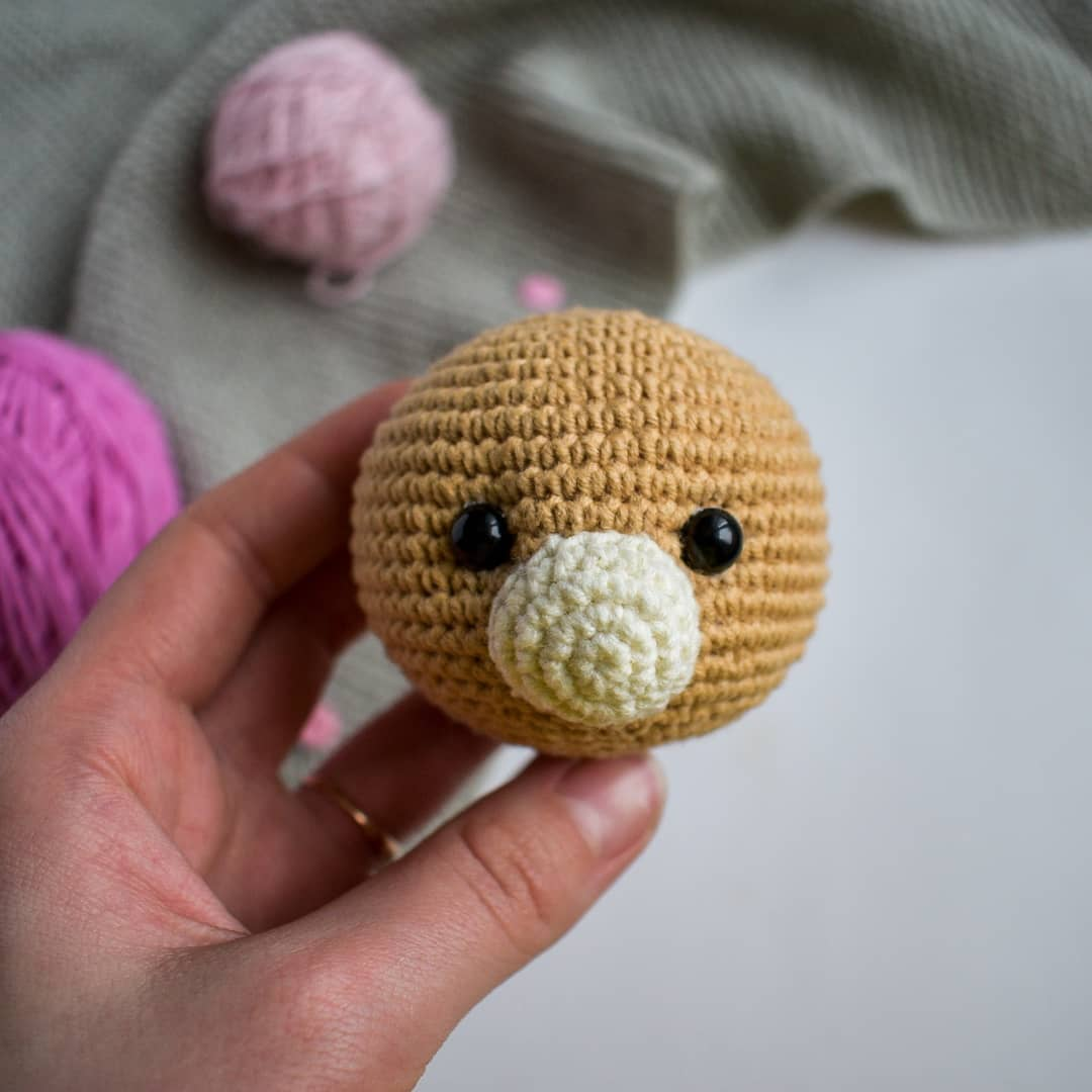 Crochet bear tutorial