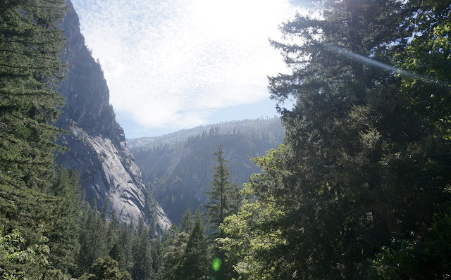 Labor Day at Vernal Falls in Yosemite - www.greysuede.com