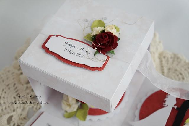 Ślubny exploding box