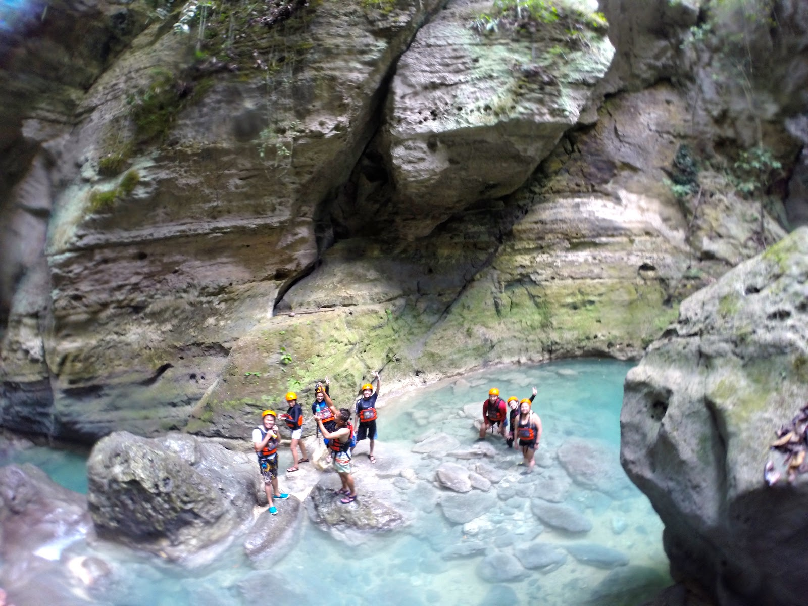 Canyoneering in Badian, Cebu
