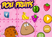 Pou Fruits Adventure juego