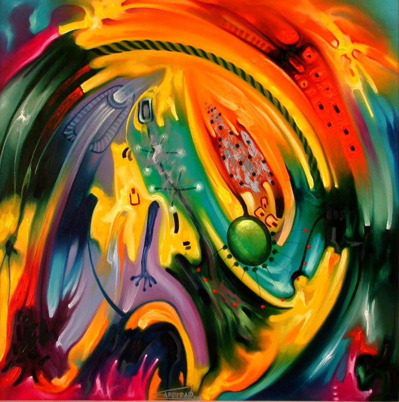 Pinturas cuadros lienzos cuadros abstractos modernos for Imagenes cuadros abstractos modernos
