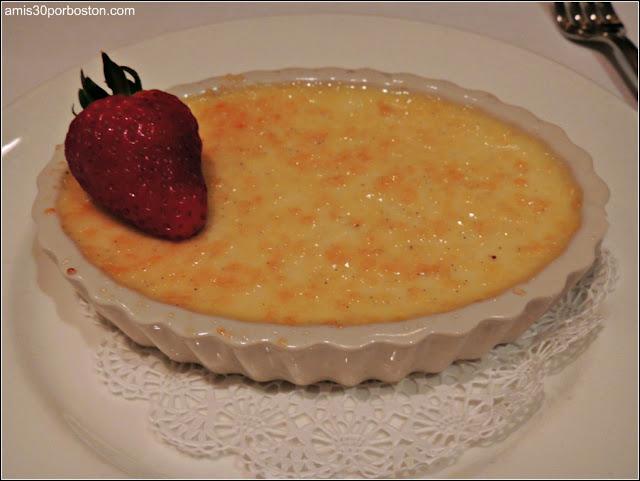 The Capital Grille Burlington: Classic Crème Brûlée