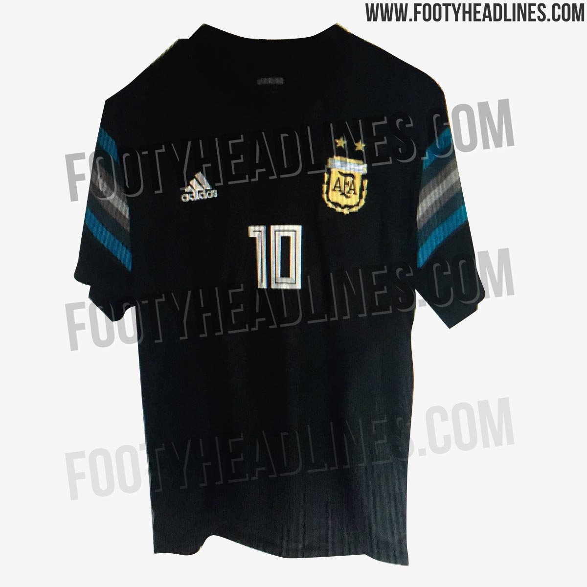 argentina 2018 world cup home away kits footy headlines