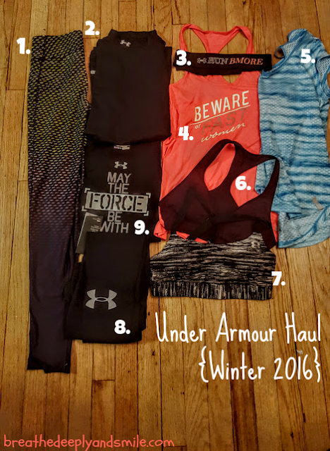 New Running Gear I'm Loving Lately-Under Armour