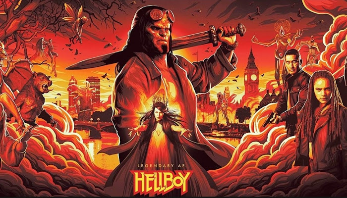 Hellboy (2019 Movie) Official Trailer HD