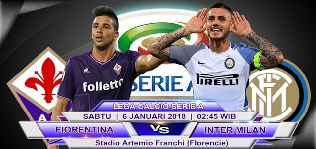 BOLA365 - Prediksi Fiorentina vs Inter Milan 6 Januari 2018