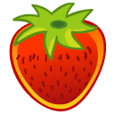 strawberry fruit icons 2