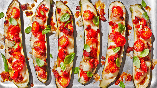Low carb vegetables? - Page 3 Courgettepizzaboats