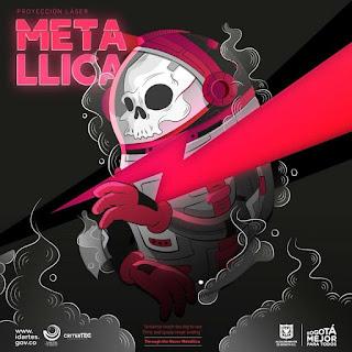 METALLICA: Show Laser Planetario de Bogota Poster 1
