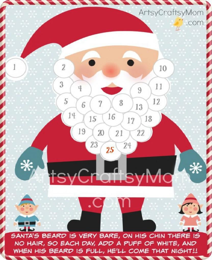 adviento, Navidad, fiestas, calendarios, manualidades, plantillas