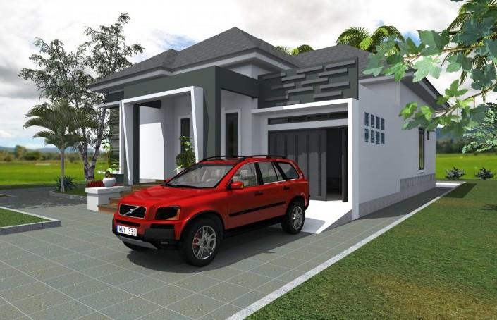 81 Contoh Desain Rumah Garasi Samping Paling Bagus