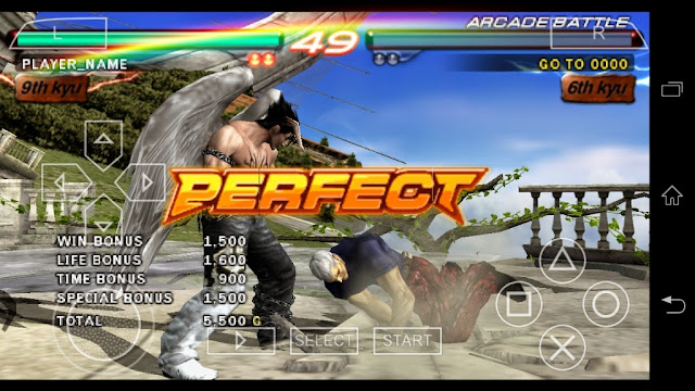 Tekken 6 game play android