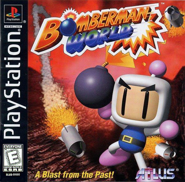 Bomberman World - PSX - Portada