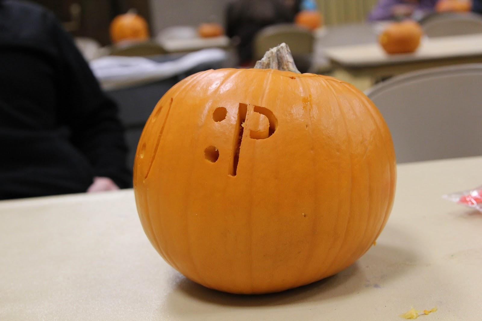"Zach With A Silent ""h"": Pumpkin Carving"