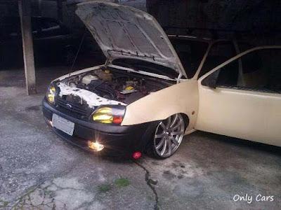 """Fiesta Rebaixado Rodas Borbet 17"""""""