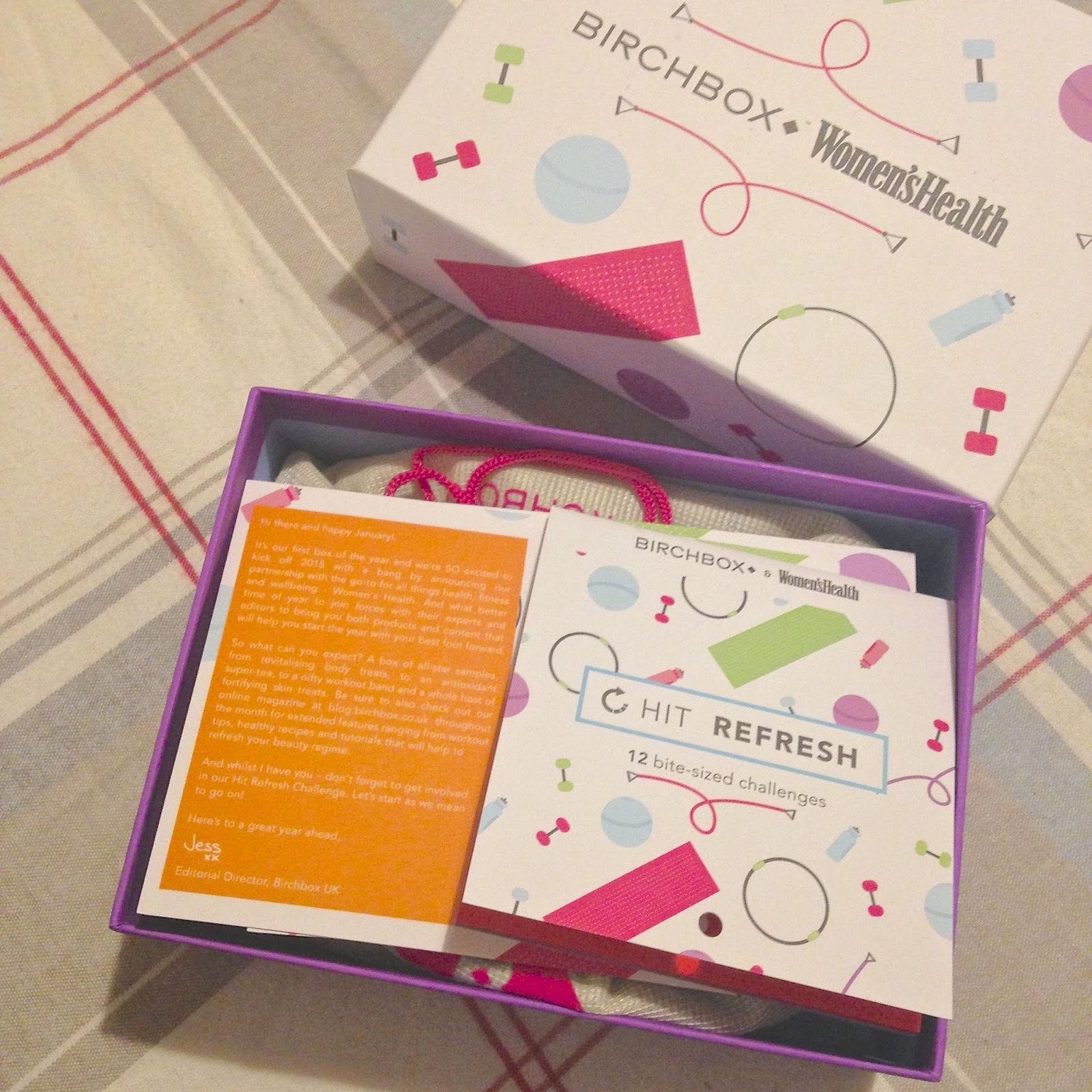 January Birchbox – Women's Health