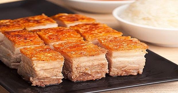 Crispy Pork Belly Lechon Kawali